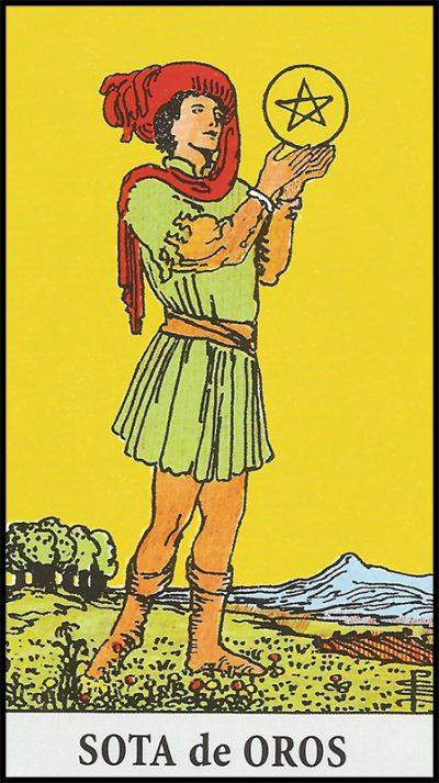 Significado de sota de oros arcanos menores