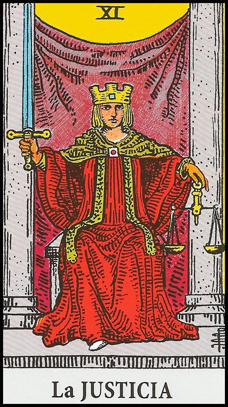 Arcanos Mayores - XI La Justicia