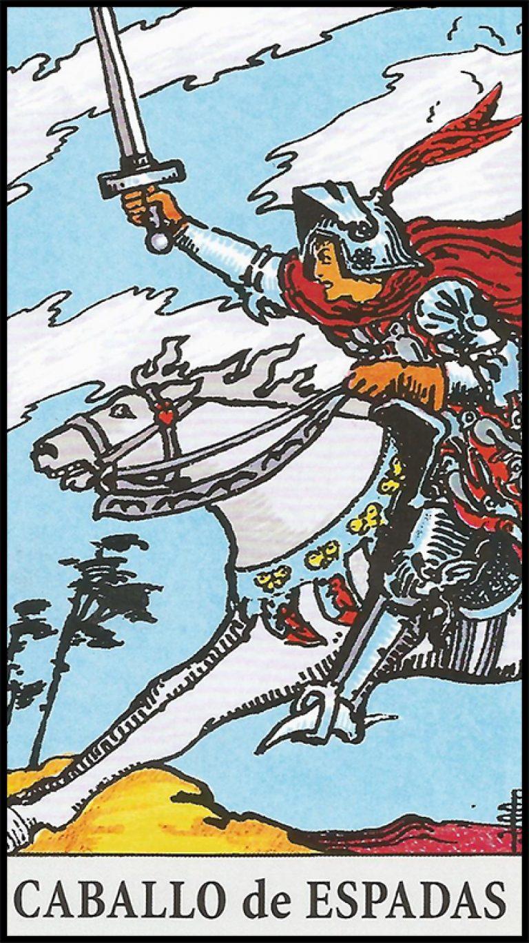 Significado de caballo de espadas arcanos menores