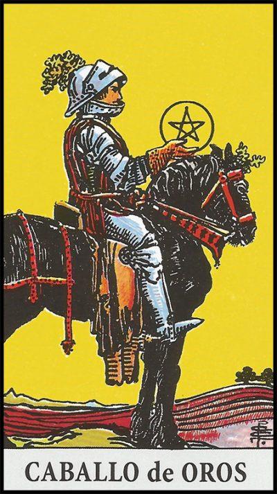 Significado de caballo de oros arcanos menores