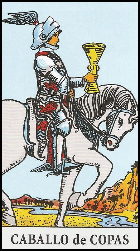 Significado de caballo de copas arcanos menores