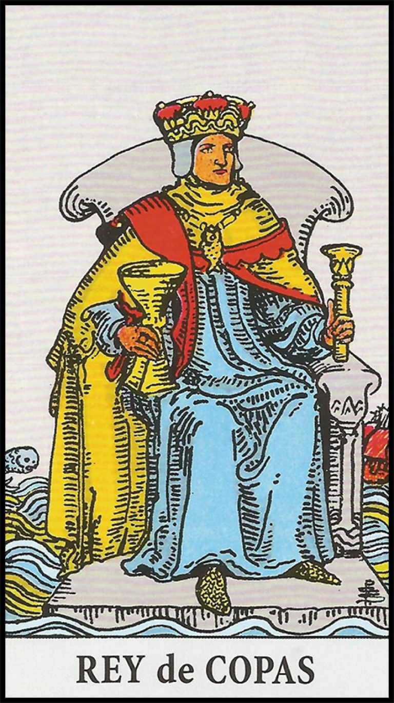 Significado de rey de copas arcanos menores