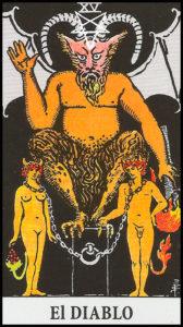 Significado de El Diablo Arcanos Mayores