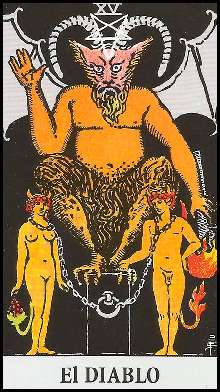 Arcanos Mayores - XV El Diablo