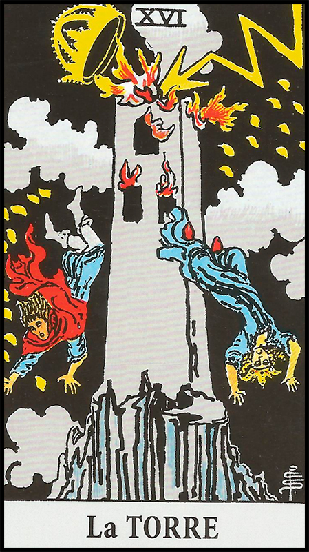 Significado de La Torre Arcanos Mayores
