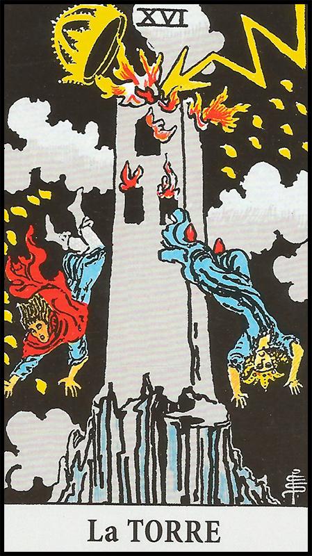 Arcanos Mayores - XVI La Torre