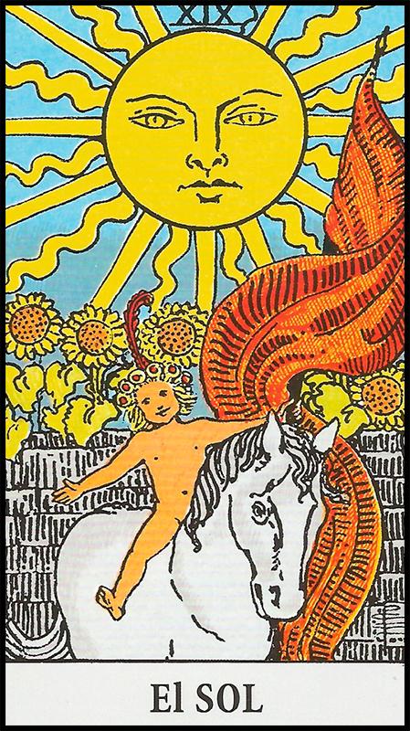 Significado de EL Sol Arcanos Mayores