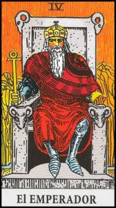 Significado de El Emperador Arcanos Mayores