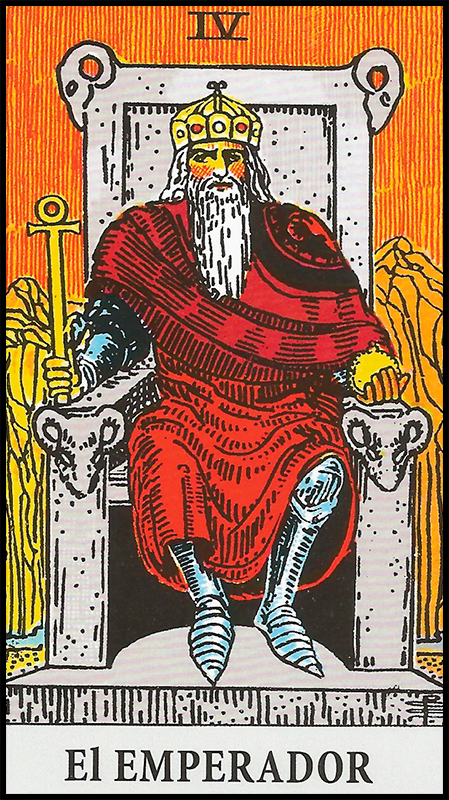 Arcanos Mayores - IV El Emperador