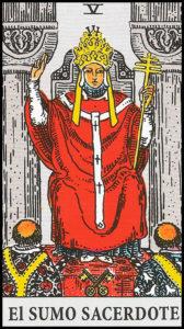 Significado de El Sumo Sacerdote Arcanos Mayores