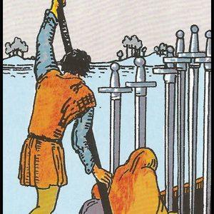 Significado de 6 de espadas arcanos menores