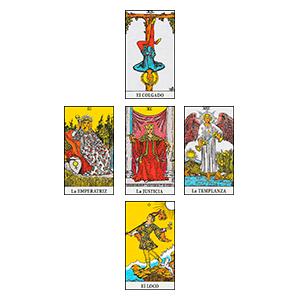 Tirada Josephine Peledan - tipos de tiradas de cartas de tarot - la guía del tarot