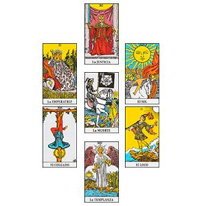 Tirada Hexagrama- tipos de tiradas de cartas de tarot - la guía del tarot