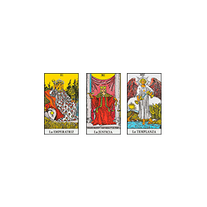 Tirada Simple - tipos de tiradas de cartas de tarot - la guía del tarot