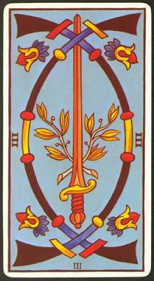 3 de espadas - Tarot Rider-Waite - La Guía del Tarot