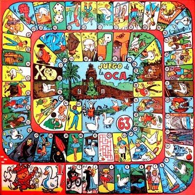 juego oca - La Guía del Tarot