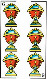 7 de copas - Baraja Española - laguiadeltarot.com
