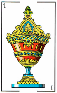 as de copas - Baraja Española - laguiadeltarot.com