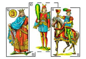 Figuras de la baraja española -laguiadeltarot.com
