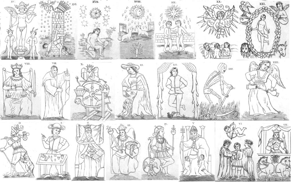 tarot de Court de Gebelin - laguiadeltrot.com