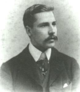 El joven Arthur Edward Waite