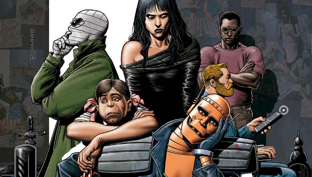 Rachel Pollack fue autora de guiones para Doom Patrol