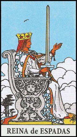 Significado de reina de espadas arcanos menores