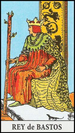 Significado de rey de bastos arcanos menores