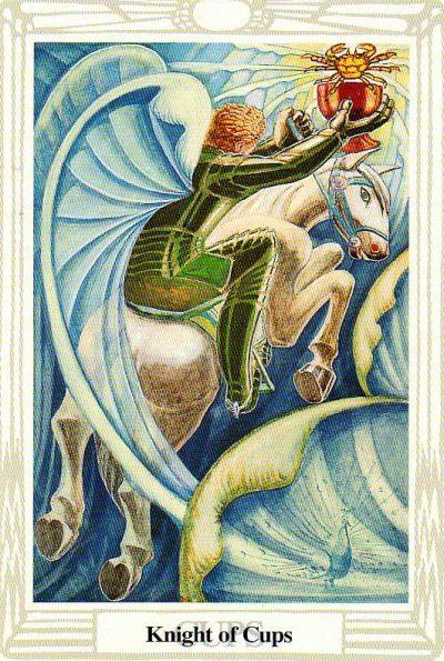 Rey de Copas del Tarot Thoth | laguialdetarot.com