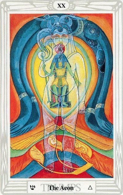 El Aeon del Tarot Thoth | laguialdetarot.com